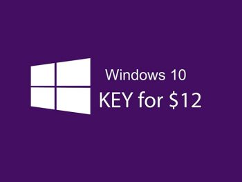 Microsoft Windows 10 Pro Product key for $12.6 (Cheapest Price)