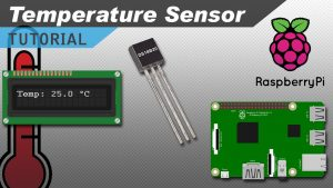 Raspberry Pi Temperature Sensor using DS18820