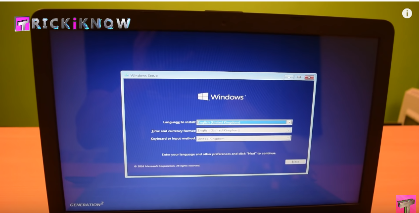 Install Windows 10